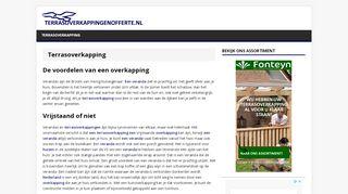 http://www.terrasoverkappingenofferte.nl/